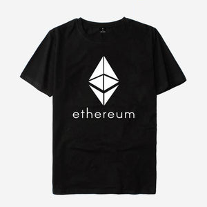 Ethereum 100% Cotton T-shirt Short Sleeves