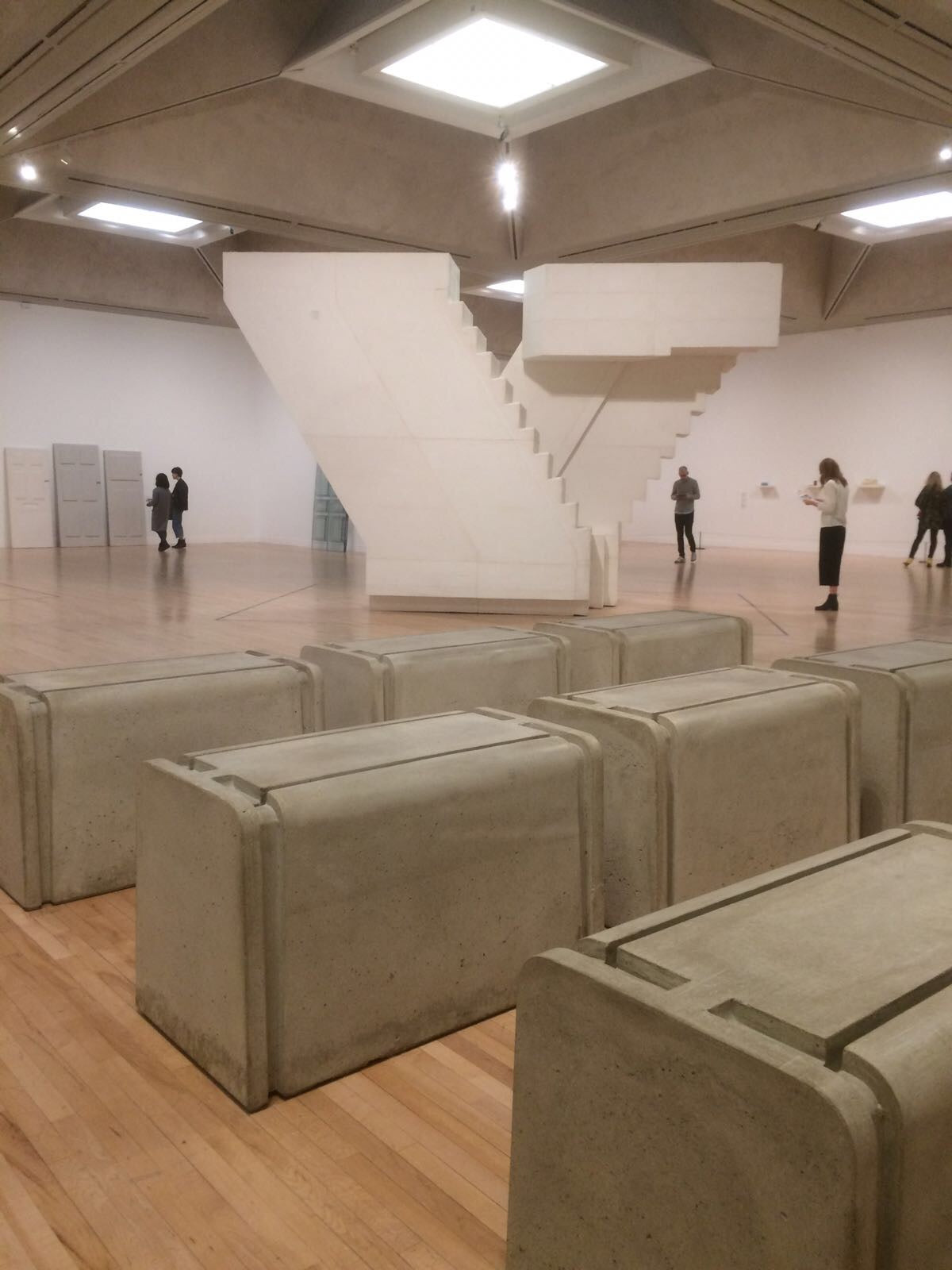 Make Space:  Rachel Whiteread