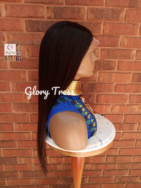 "Lace Front Wig, Wigs, Human Hair Wig, Glory Tress Wig, 100% Brazilian Remy Wig, 13x4 Free Parting, 10""-24"" Custom Wig// FERVENT2"