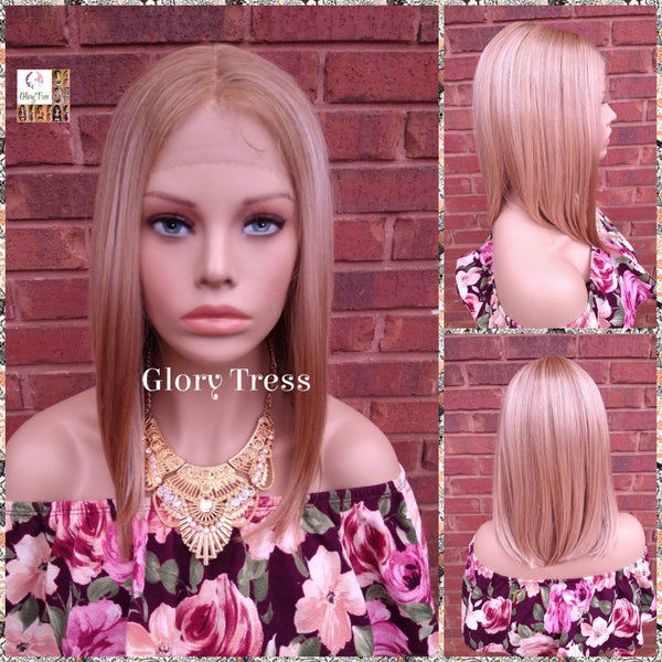 Lace Front Wig, Ombre Creamy Blonde Wig, Straight Wig, Blonde Wig, Glory Tress Wigs, Wigs, Wig, Heat Safe, On Sale  // YOU'RE AMAZING