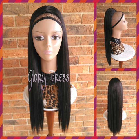 ON SALE // Long & Straight Ponytail, Drawstring Ponytail, Hair Piece, Heat Safe // KINDNESS - Glory Tress