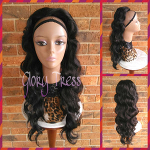 ON SALE // Long & Wavy Ponytail, Drawstring Ponytail, Hair Piece, Heat Safe // GOODNESS - Glory Tress