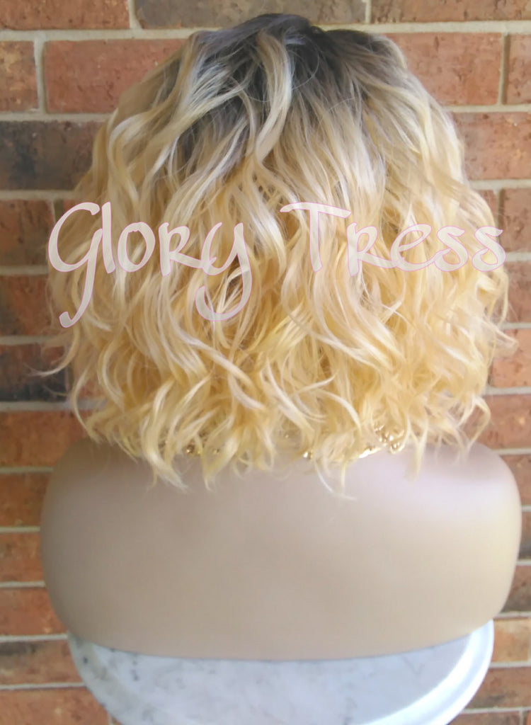 On Sale Short Amp Wavy Bob Lace Front Wig 100 Human