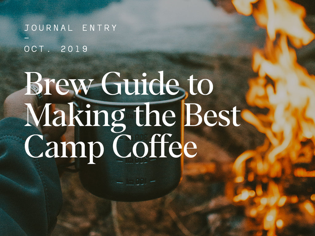 Brew Guide to Making the Best Camp Coffee