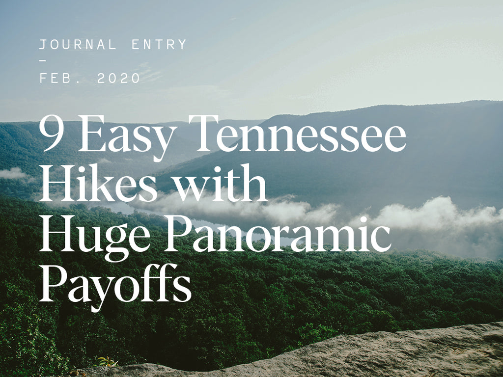 9 Easy Tennessee Hikes with Huge Panoramic Payoffs