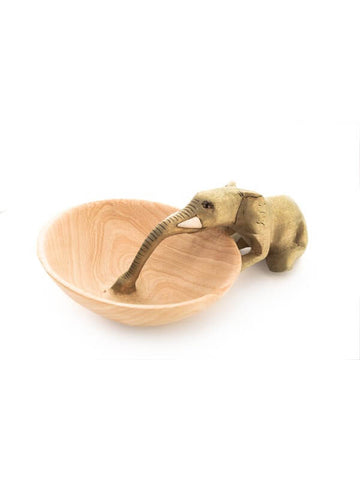 Elephant Bowl by Acacia Creations at Jungle Pillows