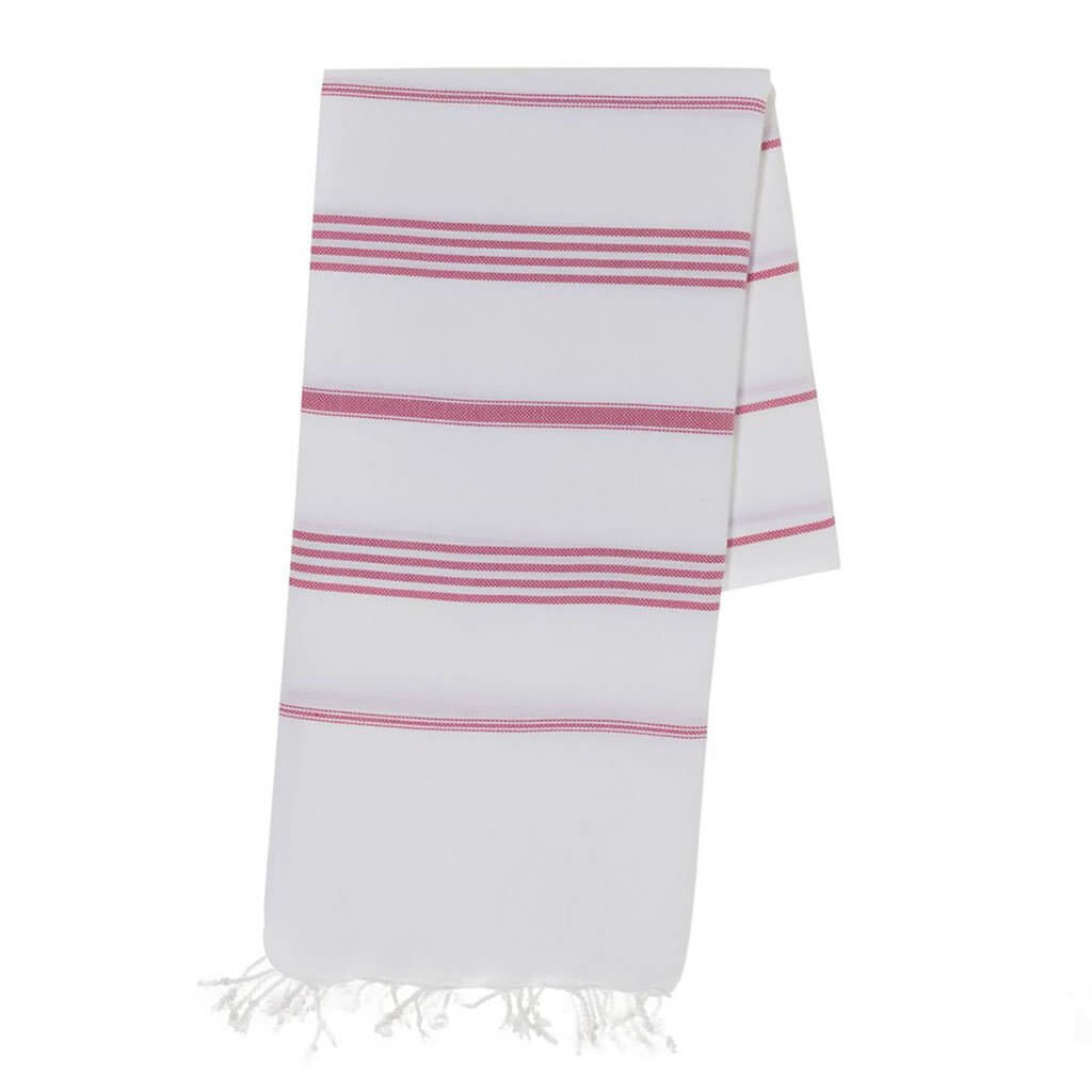 Slate + Salt Classic Stripe Turkish Towel Jungle Pillows