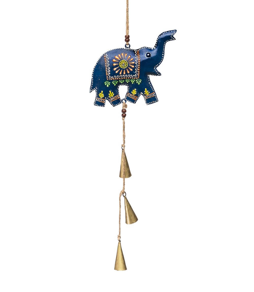 Matr Boomie Henna Treasure Bell Elephant Chime Jungle Pillows