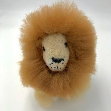 Blossom Inspirations Handmade Alpaca Lion Toy Jungle Pillows