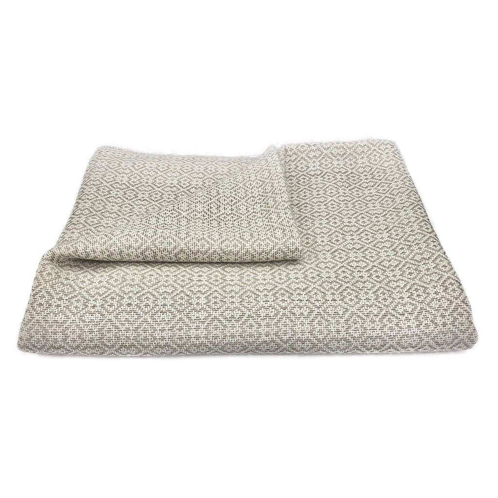 Slate + Salt Nazca Baby Alpaca Throw