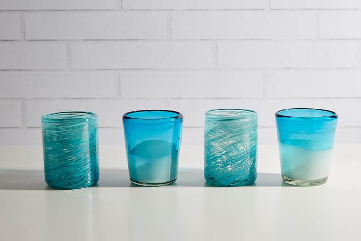 Verve Culture Handblown Recycled Mexican Glasses