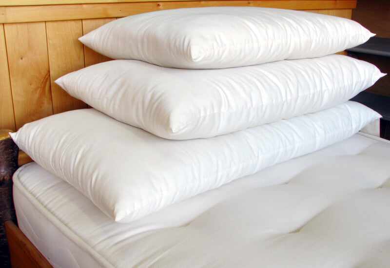 Holy Lamb Organics Natural Wool-Filled Bed Pillow