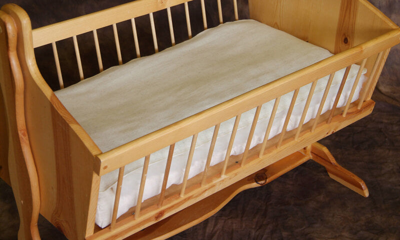 Holy Lamb Organics Baby Wool Moisture Bassinet Barrier