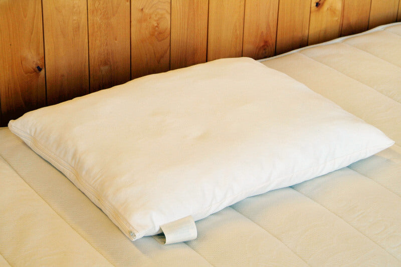 "Holy Lamb Organics Natural Woolly ""Down"" Pillows Jungle Pillows"