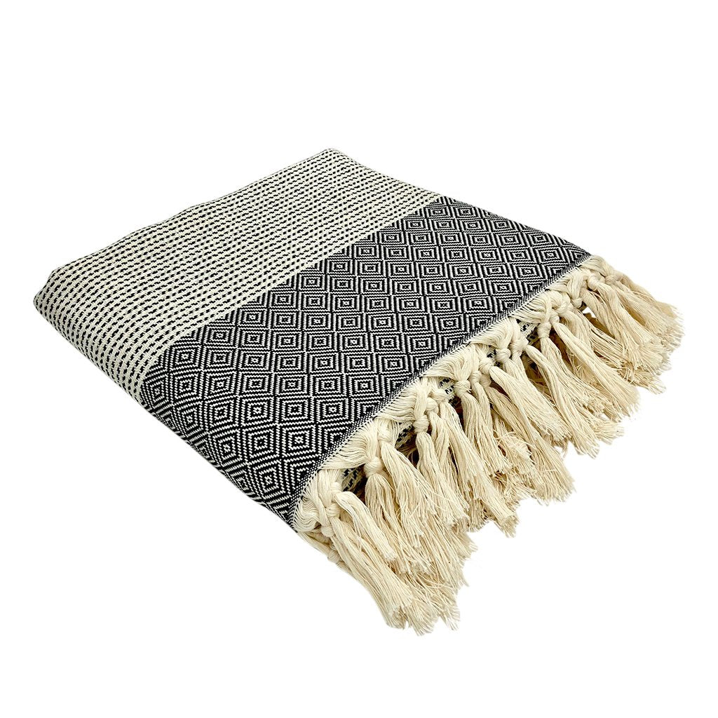Hello Autumn Throw Blankets