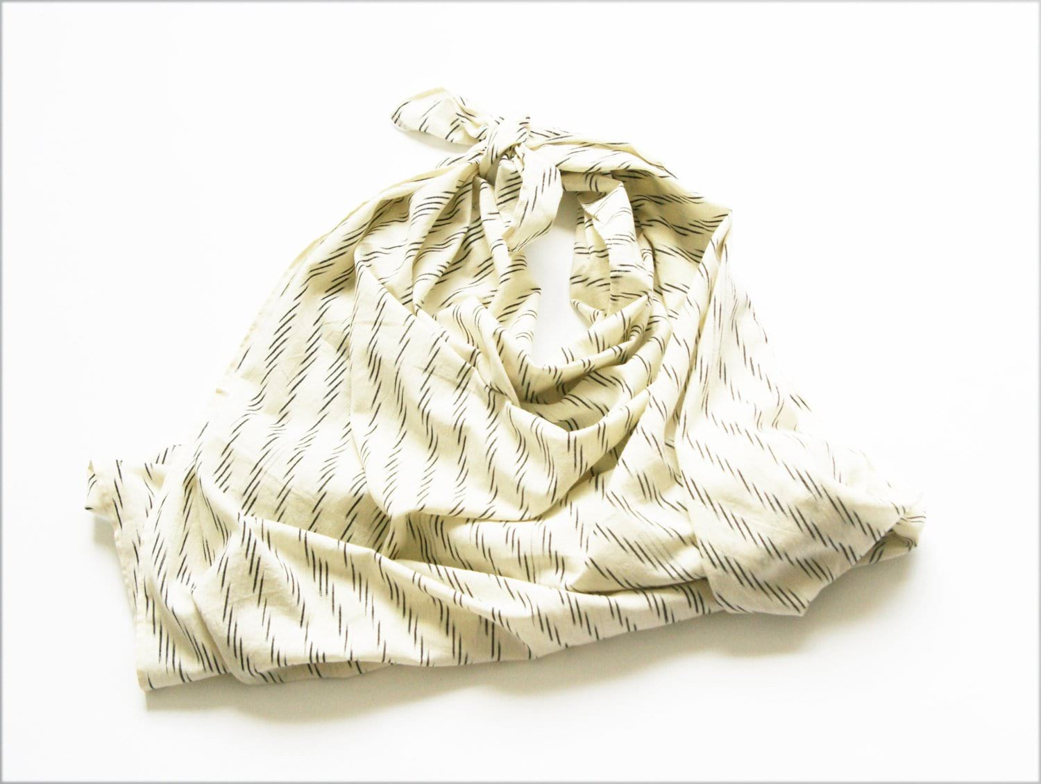 Rustic Loom White Zebra Stripe Artisan Woven Ikat Baby Swaddle Jungle Pillows