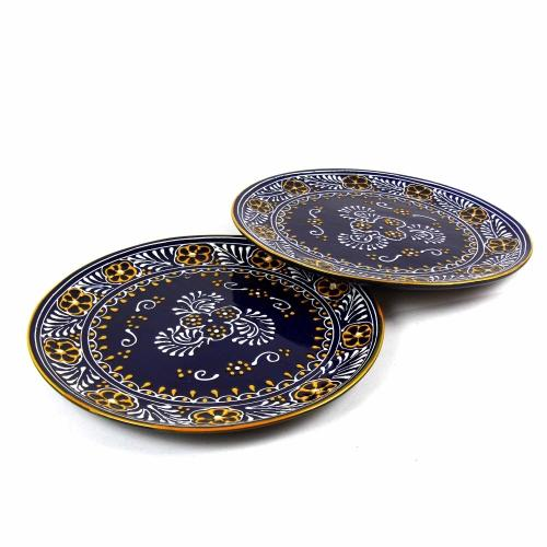 Encantada Blue Dinner Plates Set of Two