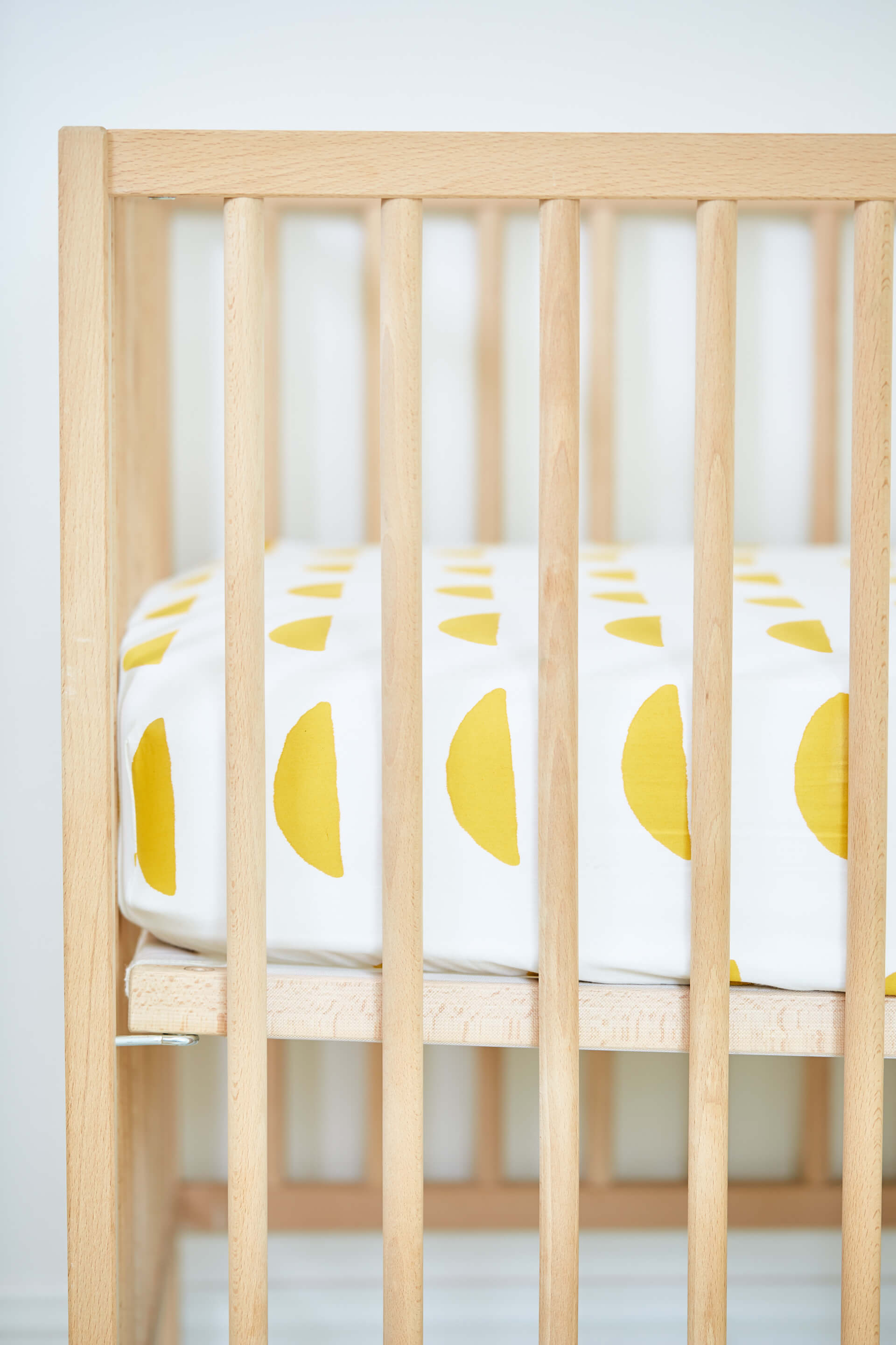 Kindred Kid & Baby Organic Cotton Half Moon Crib Sheet