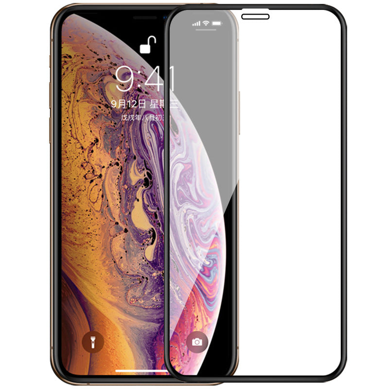 Full Cover Tempered Glass For iPhone XS Max XR X Explosion-Proof Screen Protector Film For iPhone 6 6s 7 8 Plus 5 5S 5C SE Glass - zolean