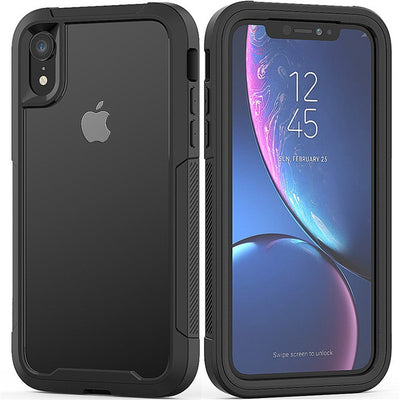 Military Shock Absorption Case For iPhone X XR XS XS Max Transparent Ultra-Thin PC+TPU Protective Case For iPhone 6 6S 7 8 Plus