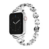 Diamond strap for apple watch 4 band 44mm 40mm apple watch band 42mm 38mm iwatch bracelet 3/2/1 stainless steel wristbelt