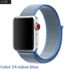 Strap For Apple Watch band 42mm 38mm 5 4 3 correa iwatch 44mm 40mm sport loop bracelet Apple watch 5 4 accessories 5/3/2 - zolean