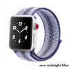 Suitable For Apple Watch band 44mm/40mm Sport loop iwatch band 5 42mm 38mm Correa Pulseira apple watch 5 3 4 band nylon watchban - zolean