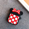 Cartoon Cute Wireless Earphone Case For Apple AirPods 2 Silicone Charging Headphones Case for Airpods Protective Cover