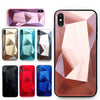 3D diamond mirror Case for iphone 11 Pro Max Soft Phone Cover for iphone X XR XS Max 8 7 6 6S Plus Shockproof Ultra Thin Case