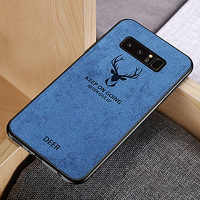 Ultra-thin Shockproof Soft Silicone Matte Batman Christmas Deer Case For Samsung Galaxy s8 s9 s10 Plus Note 8 9 Original Cover