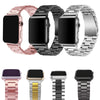 Stainless Steel bands for Apple Watch band iWatch strap metal watch band rose pink 38 40 42 44 Bracelet Clasp series 4 3 2 1 - zolean
