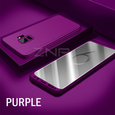 ZNP Luxury 360 Degree Full Cover Phone Case For Samsung Galaxy S9 S8 Plus S10 Shockproof Cover For Samsung Note 8 9 S9 Plus Case