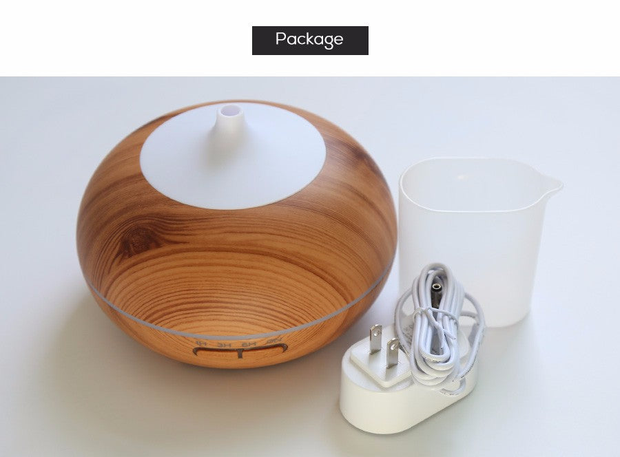 Wood Essential Oil Diffuser And Aromatherapy Humidifier Mist With Light - Essential Oil Diffuser from Trendzily - Online Gadgets Shop Store Electronics Trending Now Trendy Sale Cheap