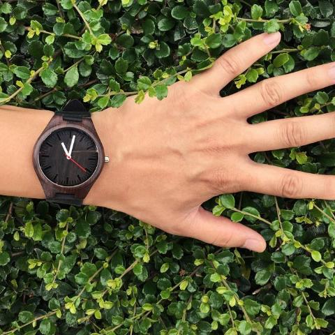 Dark Color Bamboo Wristwatch - Wristwatch from Trendzily - Online Gadgets Shop Store Electronics Trending Now Trendy Sale Cheap