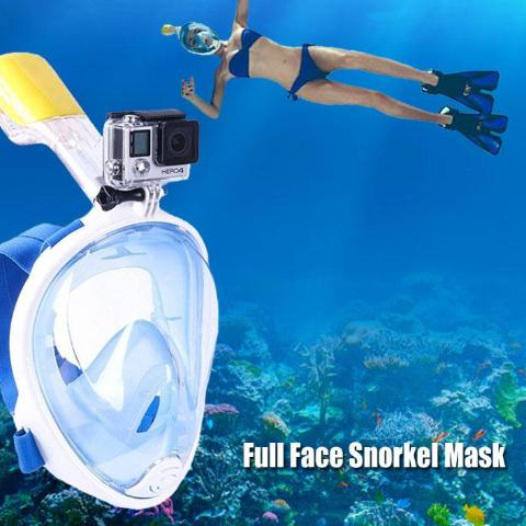 Scuba Snorkel Mask With Camera Mount - Snorkel from Trendzily - Online Gadgets Shop Store Electronics Trending Now Trendy Sale Cheap
