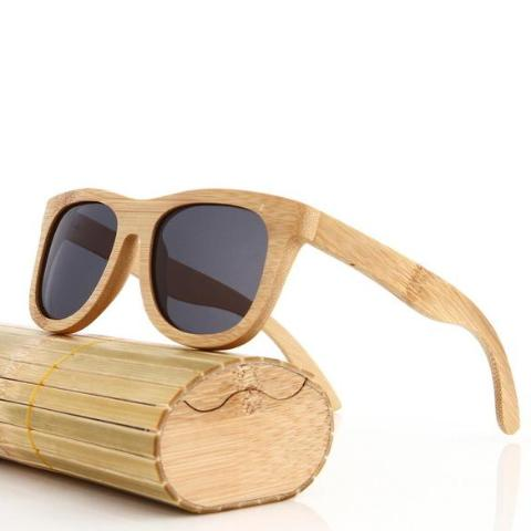 Men's Polarized Bamboo Wood Sunglasses - sunglasses from Trendzily - Online Gadgets Shop Store Electronics Trending Now Trendy Sale Cheap