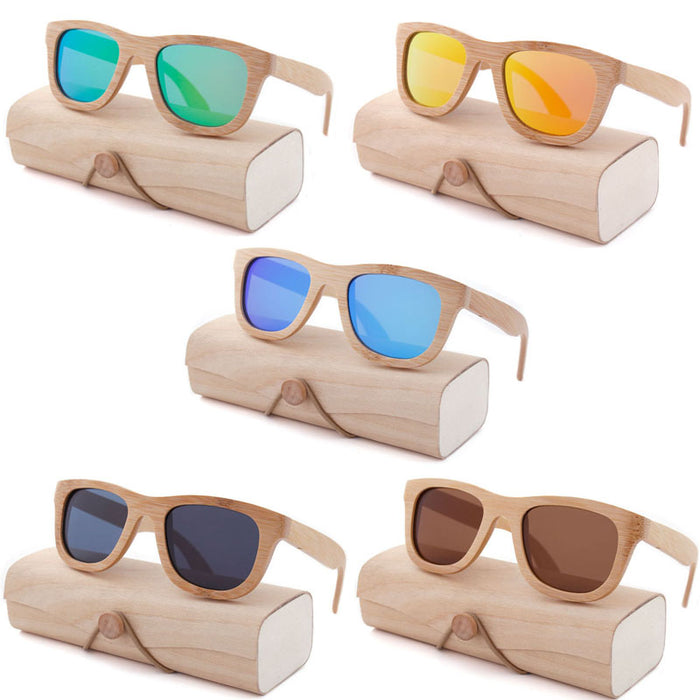 Bamboo Wooden Sun Glasses - sunglasses from Trendzily - Online Gadgets Shop Store Electronics Trending Now Trendy Sale Cheap