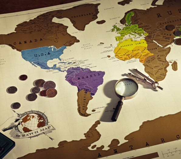 Scratch Off Map - Maps from Trendzily - Online Gadgets Shop Store Electronics Trending Now Trendy Sale Cheap