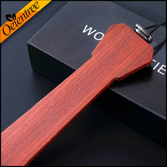 100% Hand Made Fashion Wooden Tie - Ties from Trendzily - Online Gadgets Shop Store Electronics Trending Now Trendy Sale Cheap