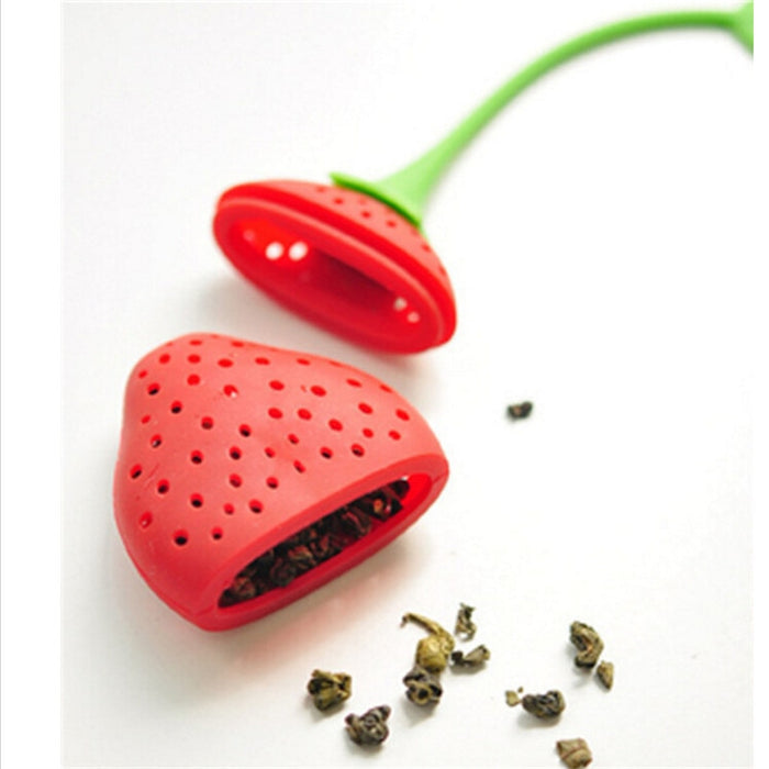 Strawberry Tea Infuser - Strawberry Tea Infuser from Trendzily - Online Gadgets Shop Store Electronics Trending Now Trendy Sale Cheap