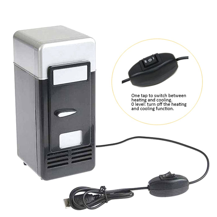 Desktop USB Mini Fridge - Desktop USB Mini Fridge from Trendzily - Online Gadgets Shop Store Electronics Trending Now Trendy Sale Cheap