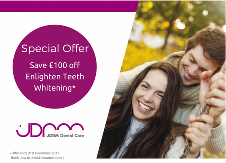 Get Whiter Teeth in time for Christmas with our Enlighten Teeth Whitening Offer