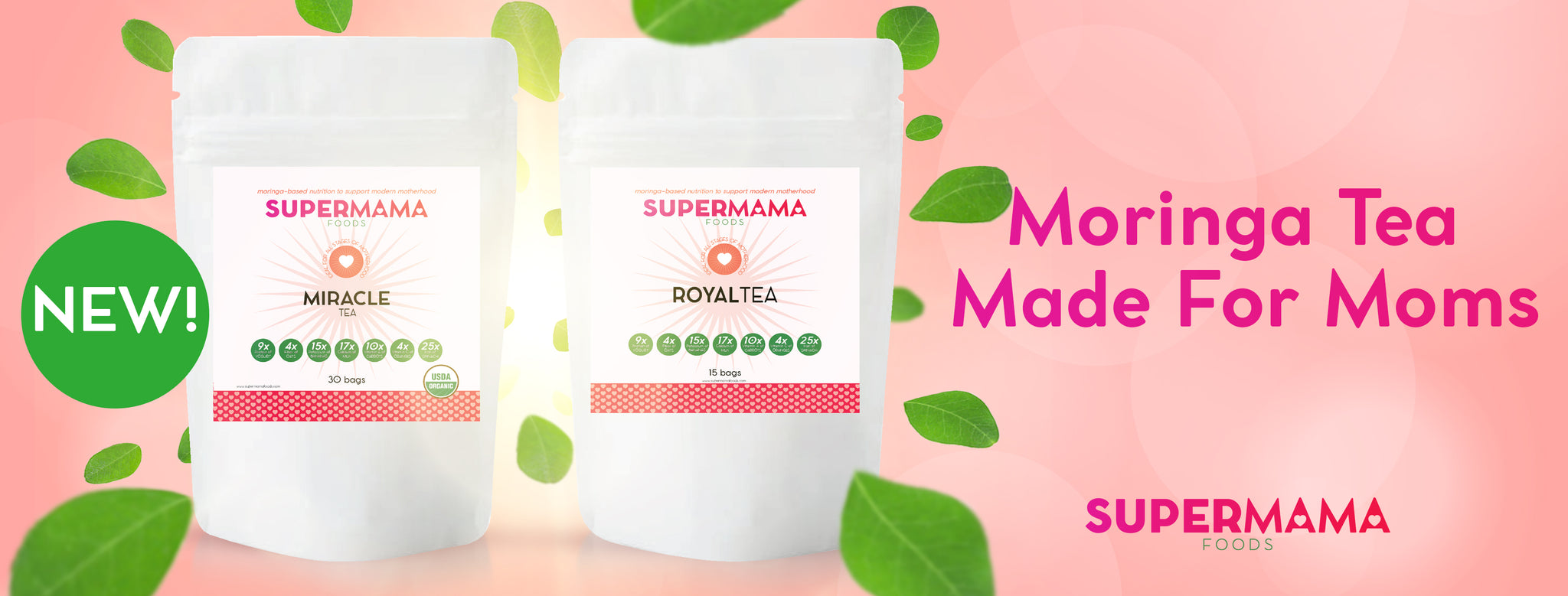Moringa Tea for Moms