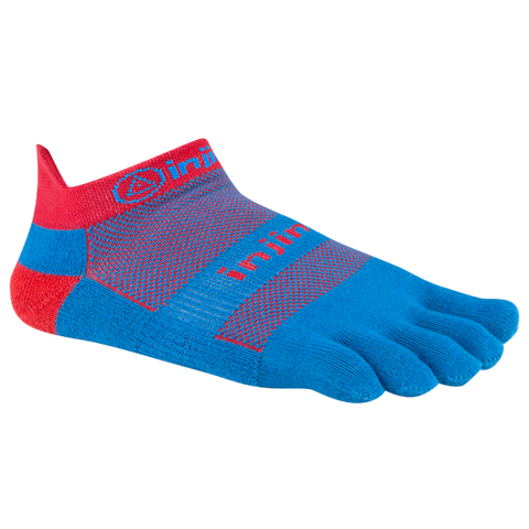Injinji Run OW Mini-Crew - THIN CUSHIONING - Superhero
