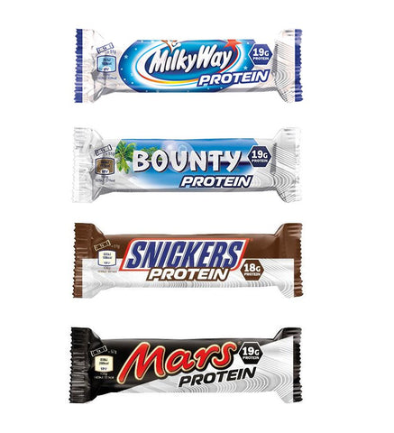 Mars, Snickers, Bounty & MilkyWay Protein Bar