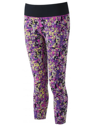 Ronhill Women's Momentum Crop Tight - Thistle