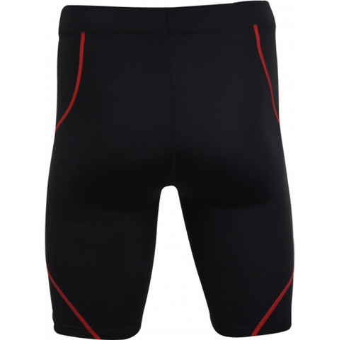 More Mile Compression Mens Running Short Tights - Black