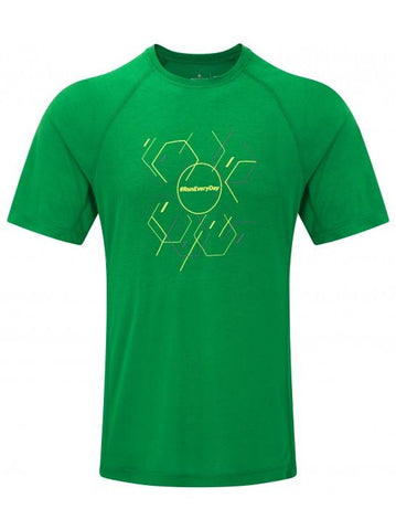 Ronhill Men's Stride Hexagon S/S Tee
