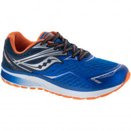 SAUCONY BOYS RIDE 9 JUNIOR RUNNING SHOES