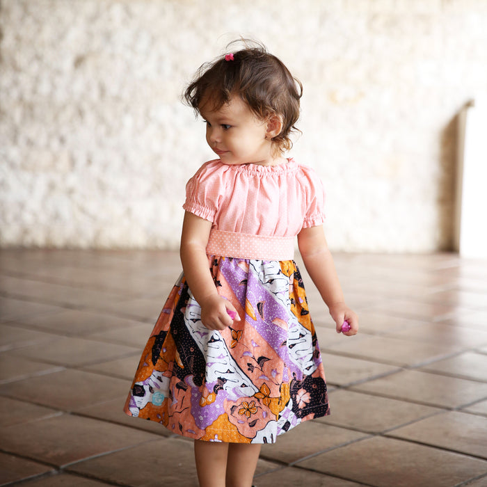 Maisie Dress -Handdrawn Batik